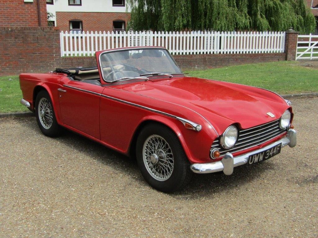 Triumph values continue to slip for sale