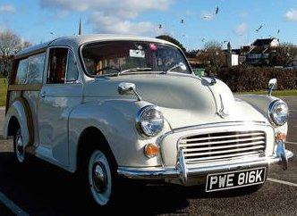 1972 Morris Minor Traveller for sale