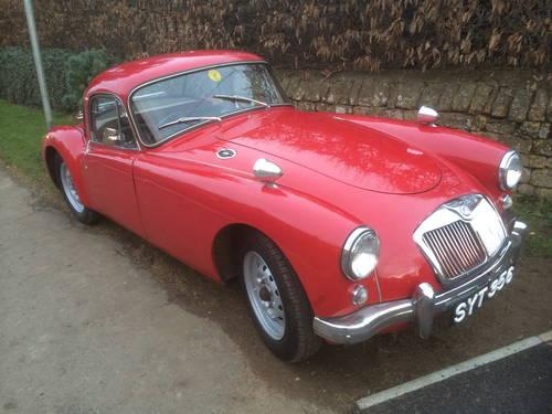 1957 MGA 1500cc Coupe for sale