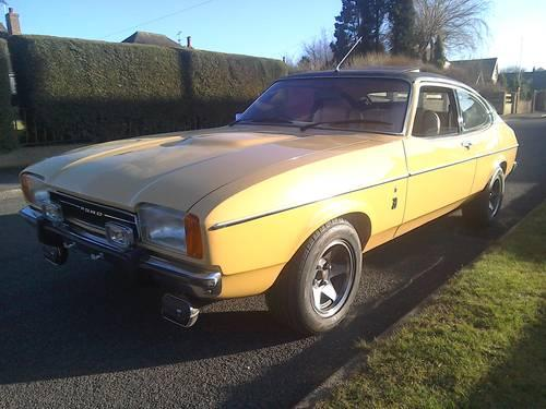 1977 Capri 3.0 Ghia for sale
