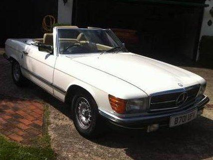 1985 Mercedes 280SL manual for sale