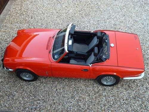1978 Triumph Spitfire 1500 - 14,000 miles for sale
