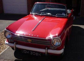 1971 Triumph Herald 13/60 Convertible for sale