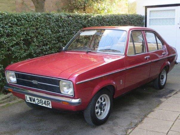 1977 Ford Escort MKII 1300 GL Auto for sale