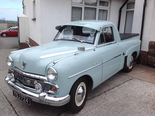 1955 Vauxhall Velox E Pickup for sale