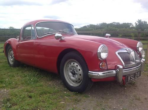 1962 MGA MK II Coupe for sale