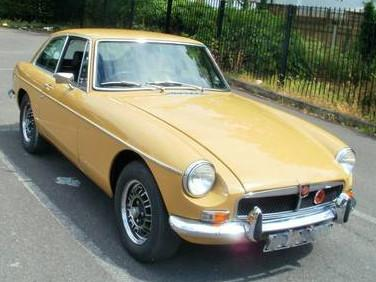 1975 Factory MGB GT  V8 for sale