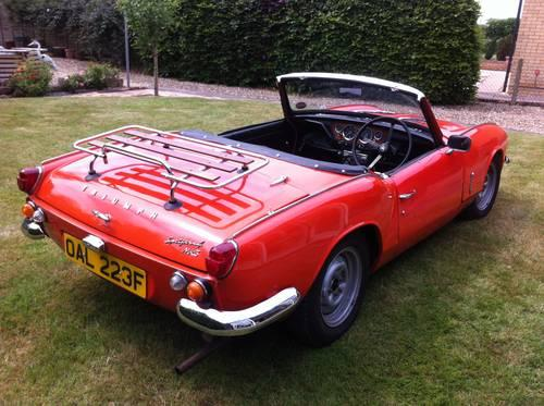 1967 spitfire 4 mark 3 for sale