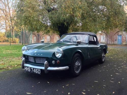 1966 Triumph Spitfire Mk 2 for sale