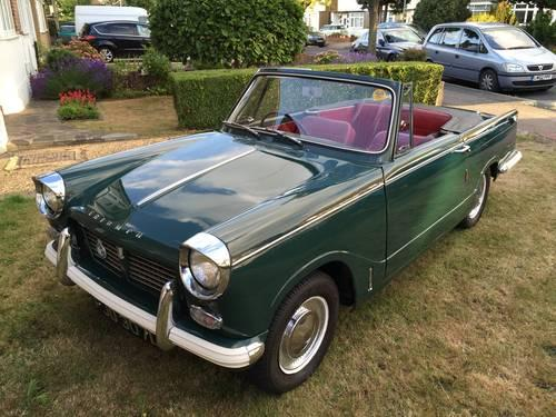 1966 Triumph Herald 1200 Convertible for sale