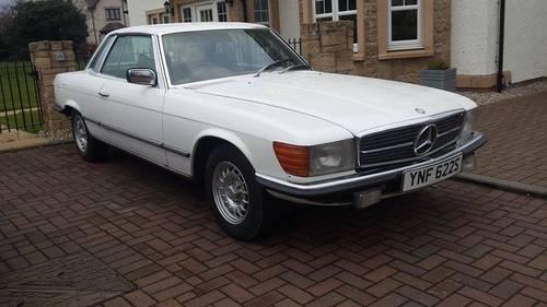 1977 Mercedes 280 SLC for sale