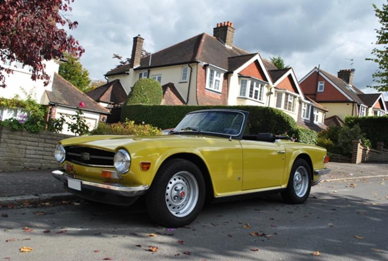 Historics November 2015 Sale : £30k TR6
