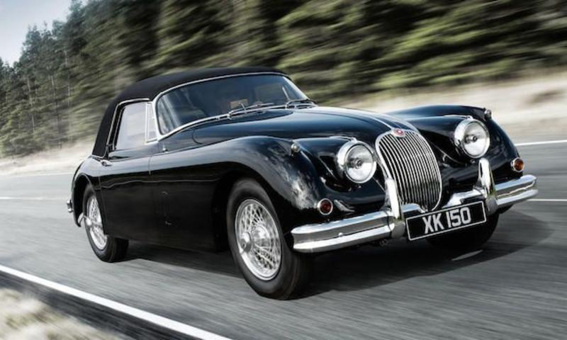 World record price for a Jaguar XK150 at Bonhams
