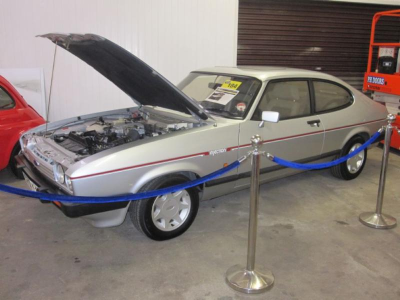 Ford Capri 2.8i sold for £37,275