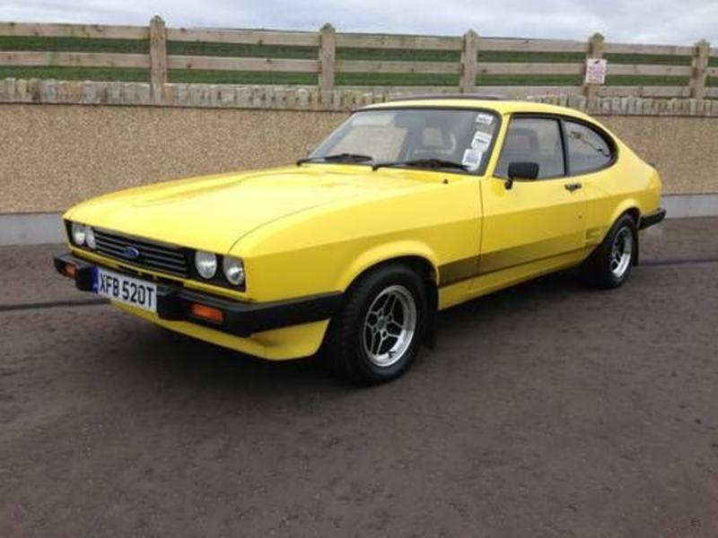 Anglia Classic Car Auction Capri 3.0s