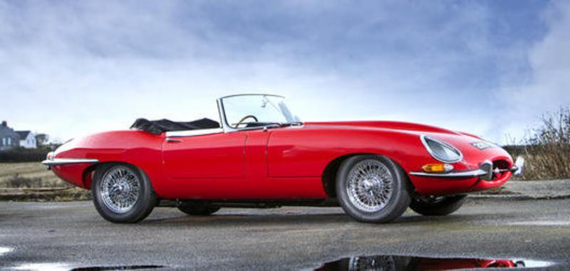 Jaguar E-type at Bonhams Goodwood sale