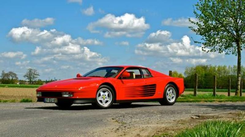 Ferrari Testarossa at Silverstone Auctions