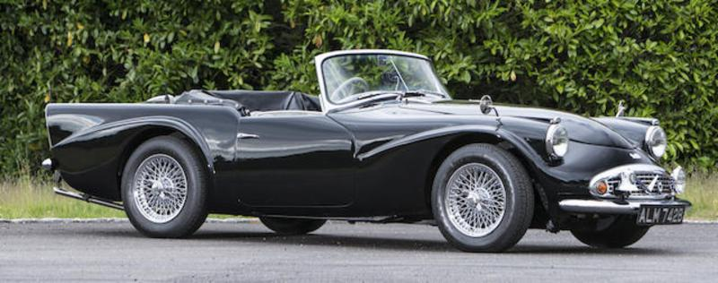 Daimler SP250 Dart at the Bonhams Goodwood Revival Sale