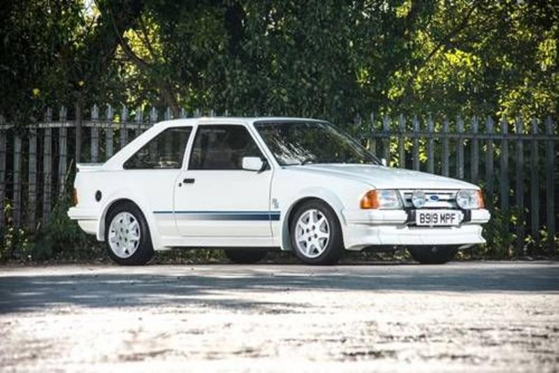Ford Escort Series 1 RS Turbo record price
