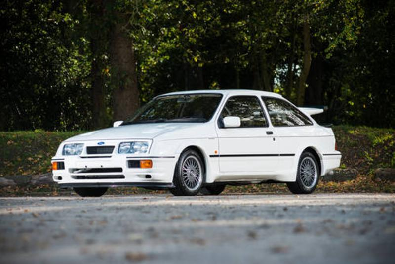 Ford Sierra Cosworth RS500 at Silverstone auctions at the NEC show