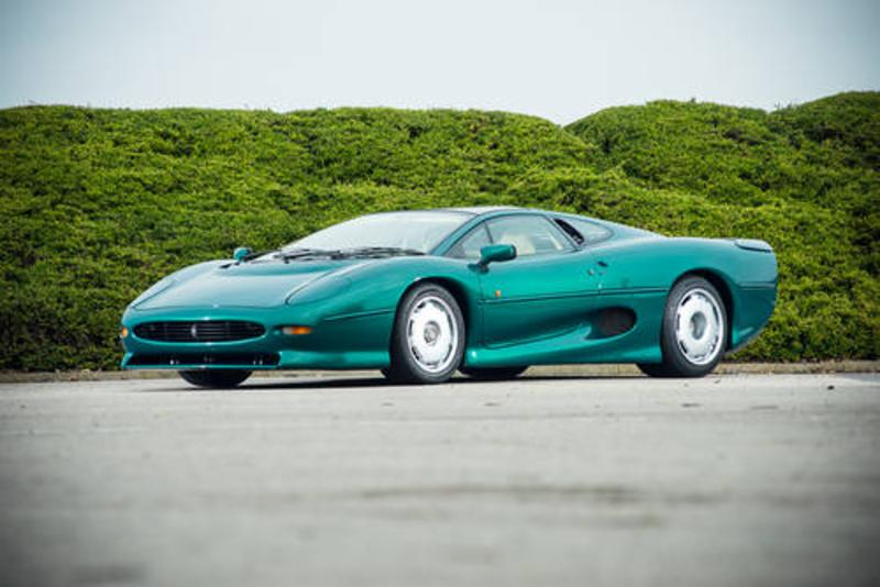 Jaguar XJ220 at Silverstone auctions at the NEC show