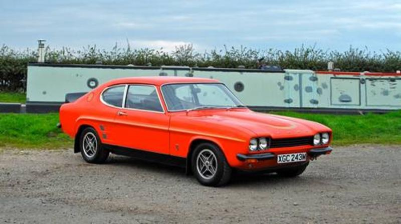 Ford Capri rs3100 at Silverstone auctions at the NEC show